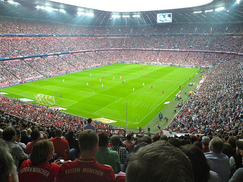 ملعب والوان قميص بايرن ميونخ الألماني